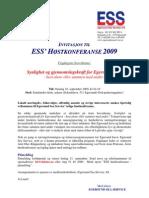 Høstkonferansen 2009 - Program inkl. innlederpresentasjon