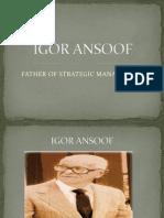 IGOR ANSOOF