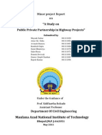 Public Private Partnership_Project Report