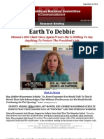 Earth To Debbie