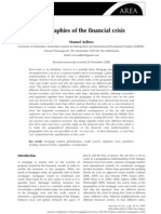 AALBERS, Manuel - Geographies of the Financial Crisis