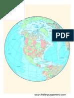 The Globe of the North America