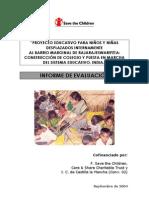 STCH.informe de Evaluacion Definitivo Final India