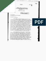J. Edgar Hoover to the Secretary of the Treasury, memo, 29 Nov 1940