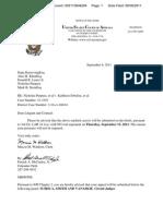 PURPURA v SEBELIUS, et al. (THIRD CIRCUIT) - CALENDARED for Thursday, 09/15/2011 - Transport Room