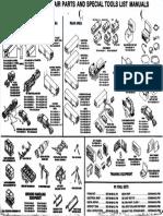 Pershing II Maintenance, Repair Parts and Special Tools List Manuals