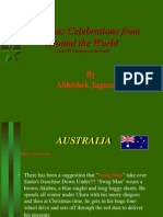 Christmas Celebrations by Abhishek Jaguessar