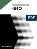 PSR510E