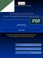 APCI - Declaracion de Paris - Nicaragua - Agosto 2006