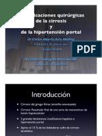 Clase Carlos Soto Hi Per Tension Portal, Varices Esofagicas y Cirrosis