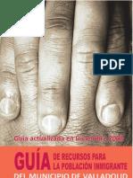 Guía de recursos para la población inmigrante del municipio de Valladolid