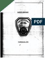 FDNY report on fatal fire, December 18, 1998