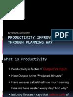 Productivity Improvement Through Planning Way_3_R
