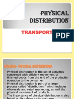 Physical Distribution Ppt