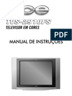 Manual Tv Cce -Tvs-2910fs