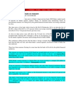 Web123_Oct 3, 2008_ICICI Bank Shares Tank on Rumours