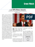 Marlo Lewis - The EPA Runs Amuck