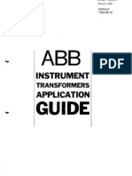 ABB Instrumnent Transformers Application Guide