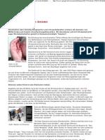 Waffen und Werbung - Mit Ultraschall in den Schädel