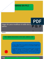 Palabras en PLC