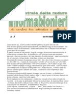 informabionieri n. 2 settembre 2011