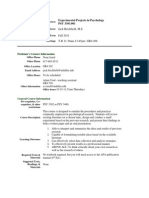 UT Dallas Syllabus for psy3393.001.11f taught by Jack Birchfield (jdb051000)