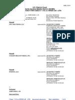 Docket Case 1 10 Cv 00500 UA LPA