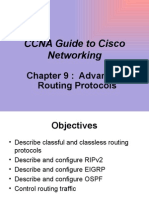 Advanced Routing Protocols