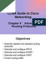 Advanced Routing Protocols