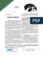 Coach Ferentz - 09 06 11