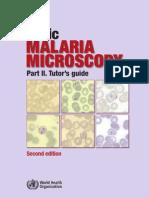 Basic Malaria Microscopy Part II