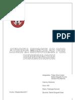Atrofia Por Denervacion...