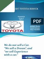 Case Study-Toyota Innova