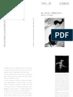 1957 - Duchamp - El Acto Creativo