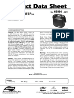Max Burton Power Center 100 Product Data Sheet