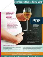 Fetal Alcohol Spectrum Disorder Fact Sheet Spanish 5.09_Layout 1