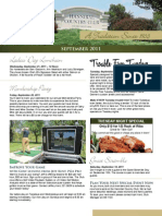 Hannibal Country Club September Newsletter