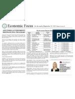 Economic Focus 9-5-11