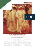 La Alta Costura Francesa del S. XIX. De Josefina Bonaparte a Eugenia de Montijo.
