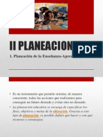 II Planeacion Exp