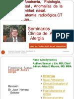 Fisiología Anomalías de La Cavidad Nasal, Radiología, CT  Scan