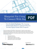Blueprint for Using Content to Connect with Buyers