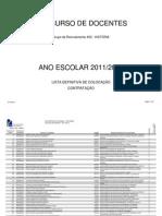 Listacolocados r Cn Grupo400 2011