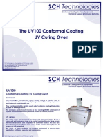 UV 100 -  UV Curing Ovens for UV curing conformal coatings and adhesives