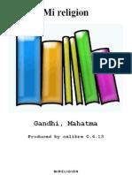 Mi Religion - Gandhi, Mahatma