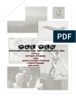 18th Edition - September 6, 2011