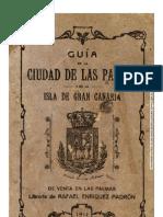 Guía De La Ciudad De Las Palmas Y De La Isla De Gran Canaria (1911)