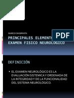 Marco Chasipanta - Examen Neurologico