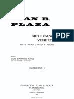 Plaza, Juan_B. Canciones Venezolanas