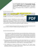 Contrato de Cesion de Servidumbre de Paso 2011